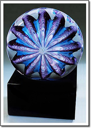 Arctic Sea Urchin Art Glass Award