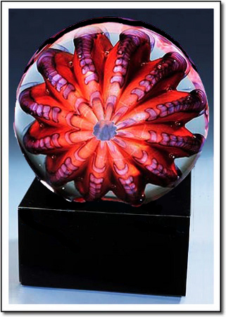 Calypso Sea Urchin Art Glass Award