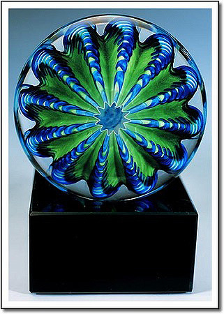 Sea Urchin Art Glass Award