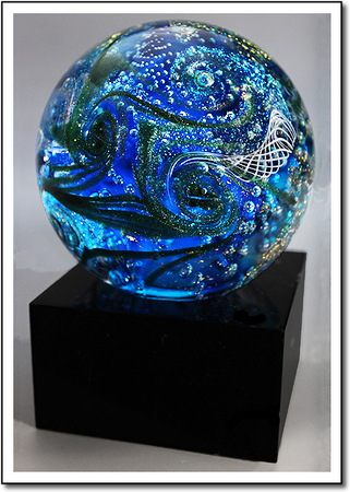 Galaxy Cluster Art Glass Award