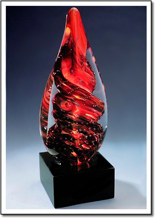 Burning Ember Art Glass Award
