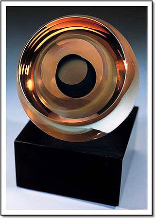 Gold Comet Art Glass Award