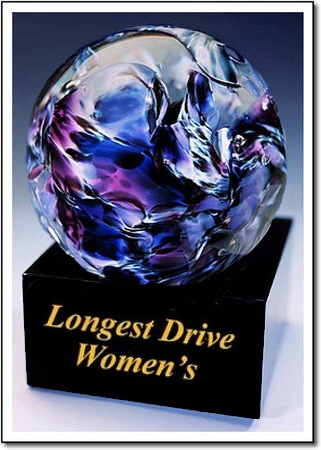 Longest Drive Women's Art Glass Award