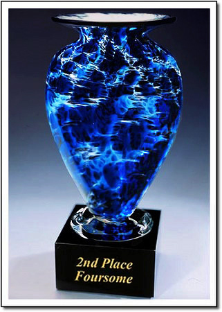2nd Place Foursome Art Glass Award