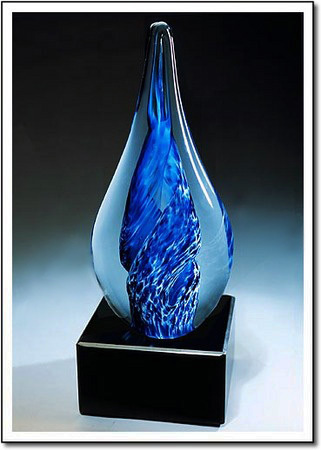 Arctic Whirlpool Art Glass Award