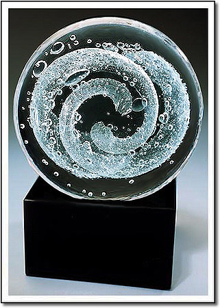 Arctic Cyclone Art Glass Award