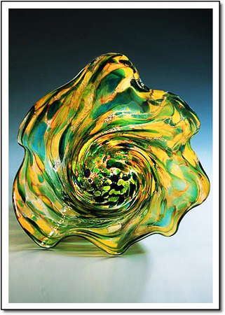 Tide Pool Art Glass Award