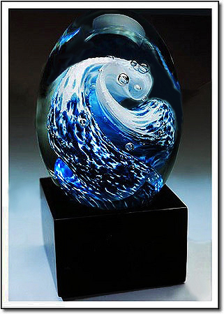 The Great Wave Art Glass Award