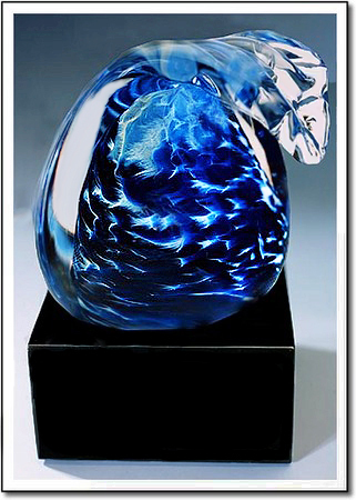 Pacific Wave Art Glass Award