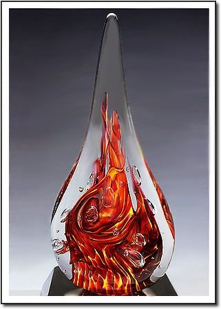 Kilauea Flame Art Glass Award