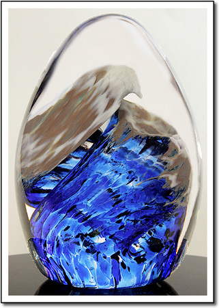 Atlantic Curl Art Glass Award