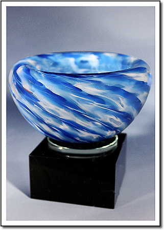 Snow Flurry Art Glass Award