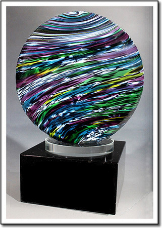 Jurassic Earth Art Glass Award