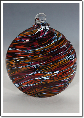 Ruby Caramel Art Glass Award