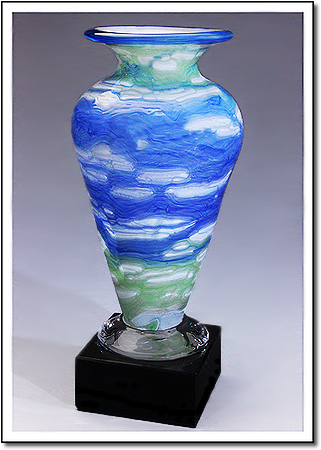 Van Gogh Athena Art Glass Award
