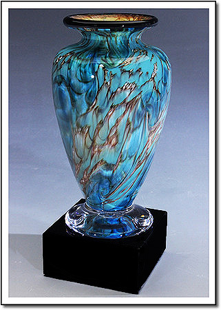 Glacier Dragon Athena Art Glass Award