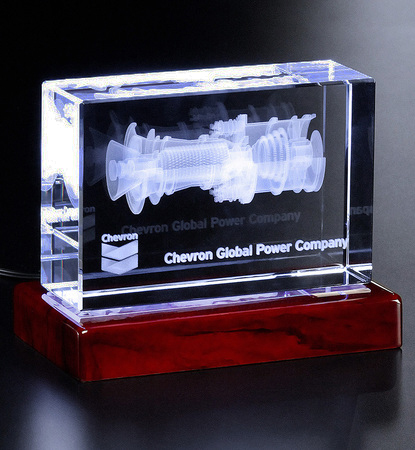 3D Cinema Art Glass Award