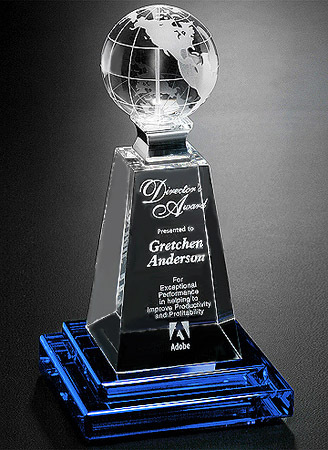 World Sapphire Art Glass Award