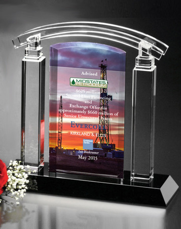 Sable Colonnade Art Glass Award