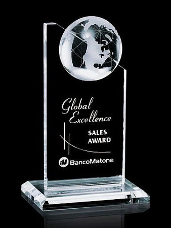 World Marquee Art Glass Award